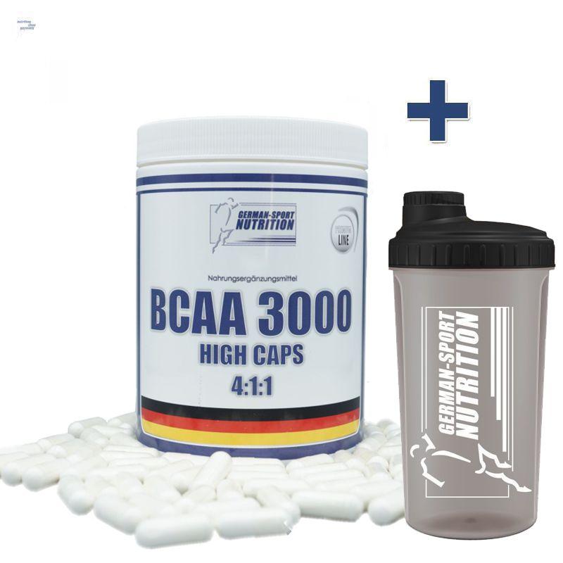 BCAA-Kapseln