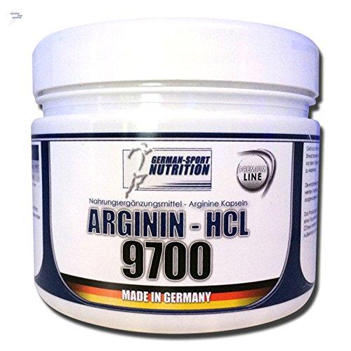 Arginin Kapseln - Arginine 9700 , 200 Kapseln