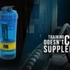 Protein-Shaker - FA Nutition 3 Kammer Shaker BLUE